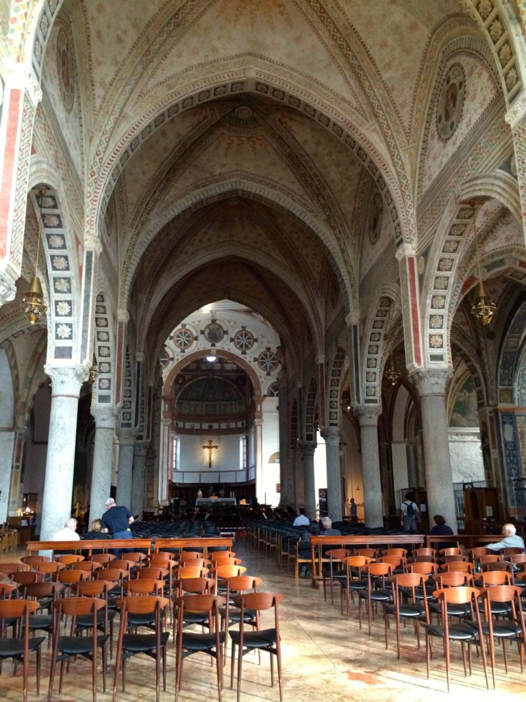Santa Maria delle Grazie, Milan, Italy - A Day in Milan, The Pike's Place
