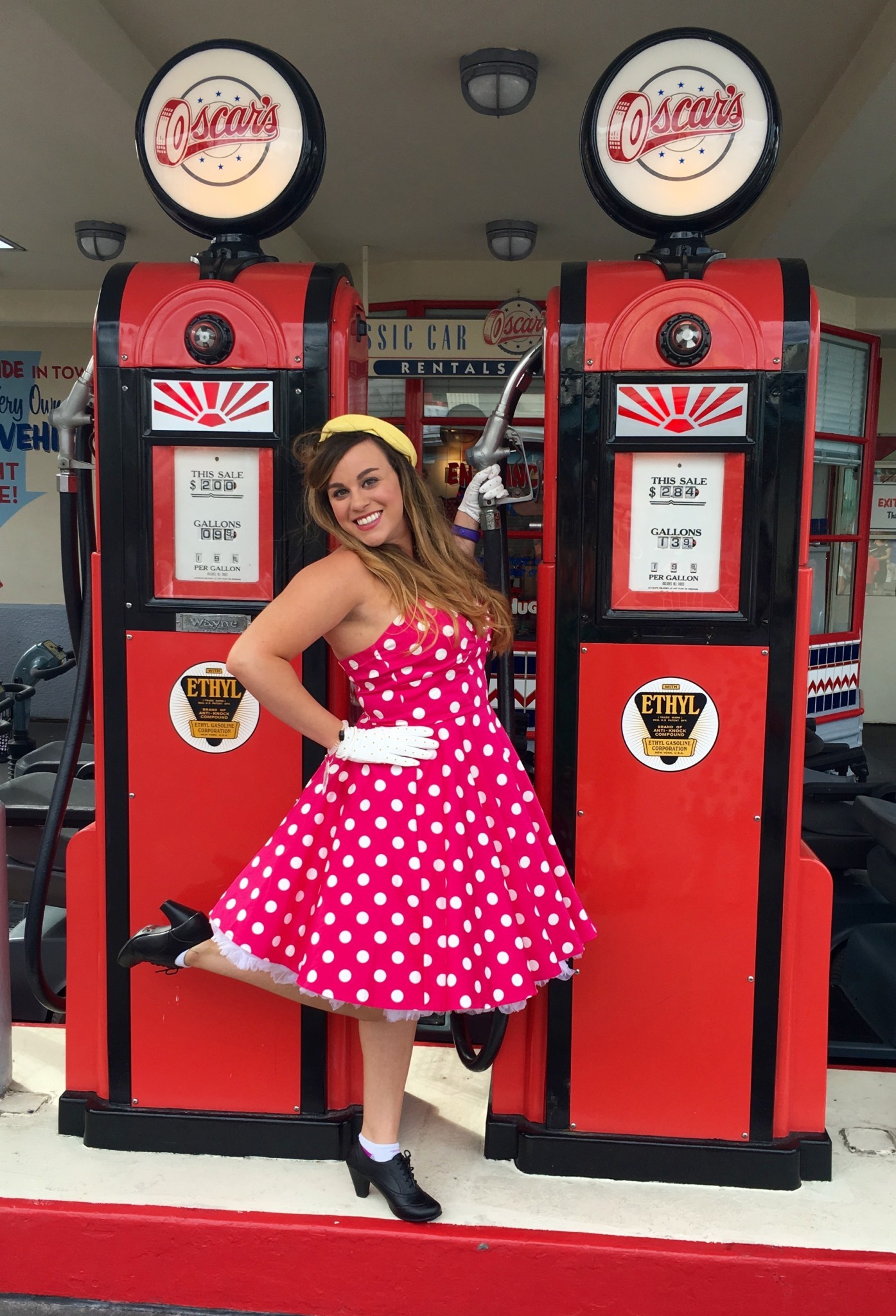 Disney Dapper Day Outfit - Minnie Mouse in Pink