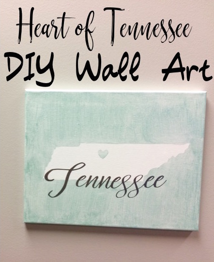 Home State Pride DIY Wall Art