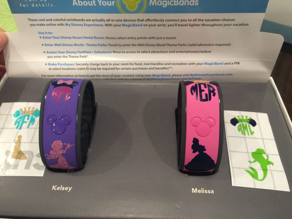 DIY Magic Band Decals The Pikes Place - Magic band vinyl decals