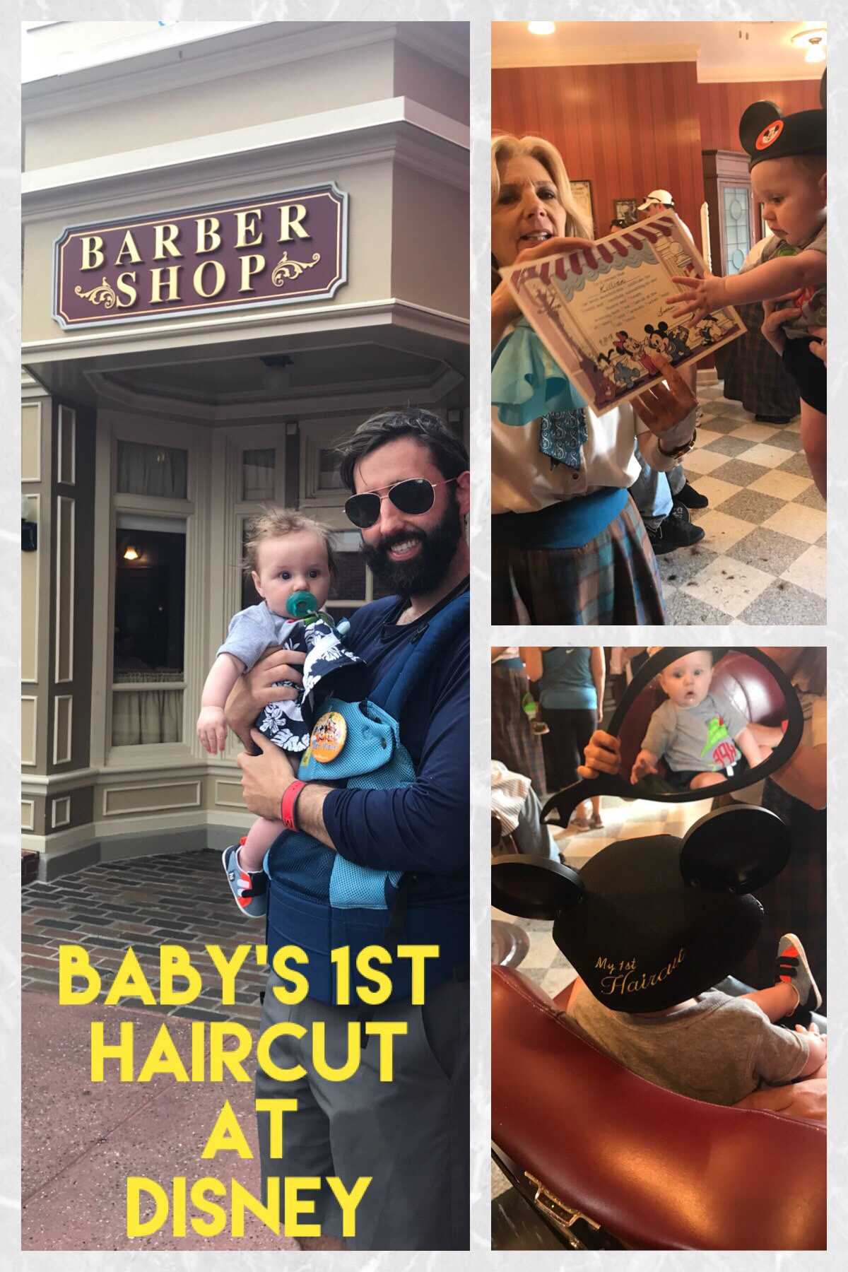 Getting A First Haircut at Disney World