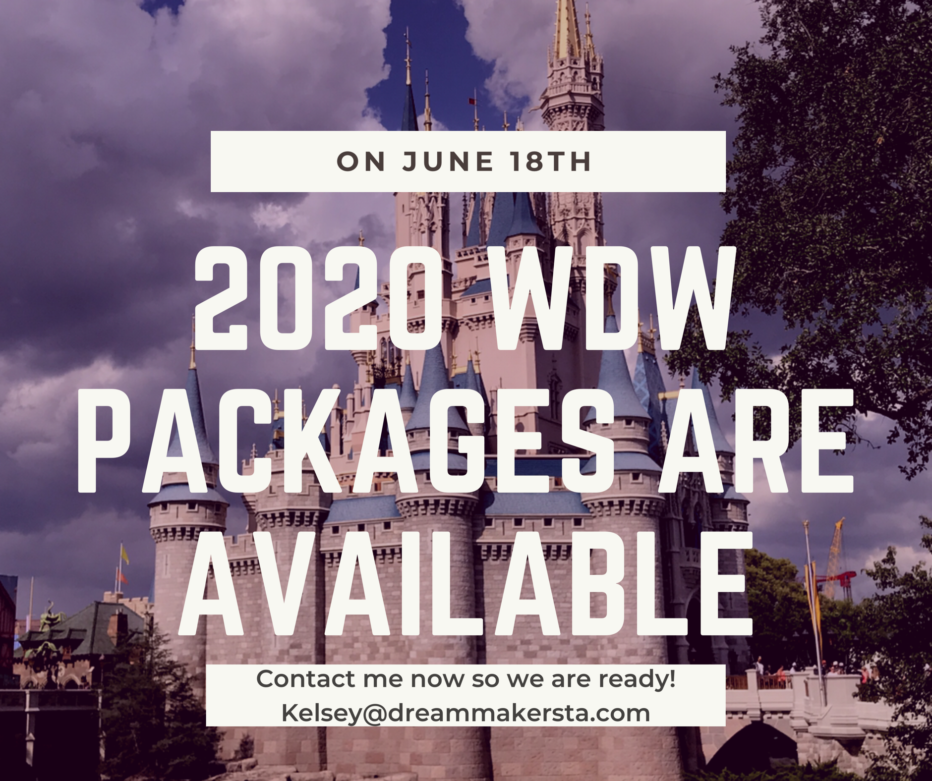 2020 Walt Disney World packages are available